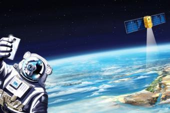 """""""بعيد بما يكفي لنلمسه"""": فعاليات اسبوع الفضاء الاسرائيلي"""