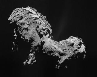 השביט צ'וריומוב-גרסימנקו | ESA/Rosetta/NAVCAM