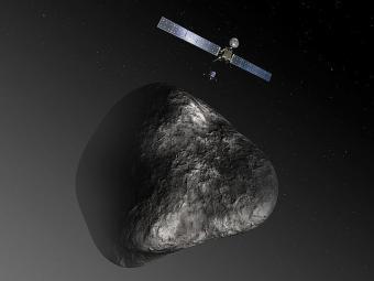 רוזטה מתקרבת לכוכב השביט   ESA