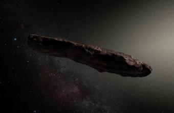 חבר מכוכב אחר: אילוסטרציה של אומואמואה | ESO/M. Kornmesser