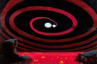 מערכת שמש כפולה. לא כל הכוכבים הם כמו השמש שלנו | איור: Chesley Bonestell דרך פליקר (Tom Simpson)