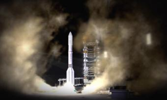 המשגר Proton Breeze M, שיישא את לווייני אפקטיב ספייס