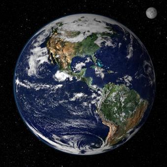 כדור הארץ- בית הגידול לחיים המגוון והיחידי שאנו מכירים | צילום: NASA
