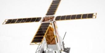 הדמיה של הננו-לוויין BGUSAT