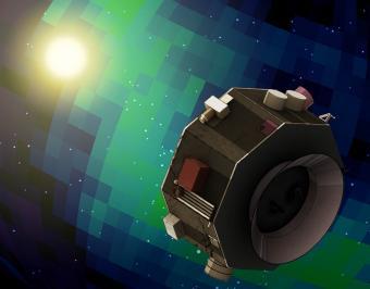 הדמיה של החללית IMAP בנקודת L1 | קרדיט: NASA