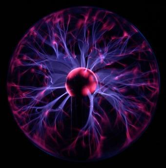 כדור פלזמה המדגים תופעות מורכבות כגון פילמנטציה | קרדיט: Luc Viatour