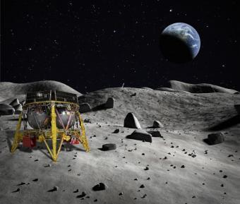 Beresheet on the moon