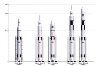 השוואה בין מערכות השיגור השונות | NASA