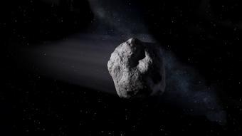 אסטרואיד, גוף קרוב ארץ   איור: NASA/JPL-Caltech