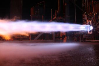 מנוע ה- BE-4 שישמש את משגר ה- New Glenn | קרדיט: Blue Origin