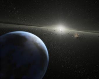 אסטרואידים במערכת השמש | הדמיה: NASA/JPL-Caltech