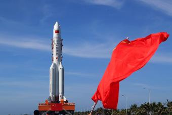 המשגר הסיני לונג מארץ' 5   צילום: China Long March Industries