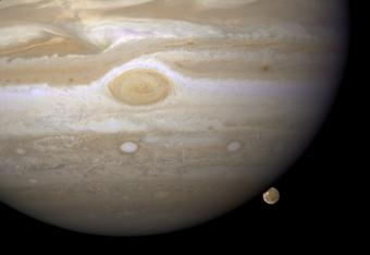 Jupiter and Ganymede | NASA Goddard Space Flight Center