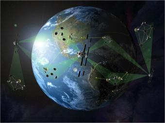 רשתות של אלפי לוויינים זעירים עשויות להחליף את לווייני התקשורת הגדולים