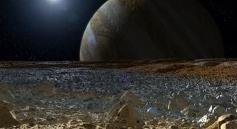 הירח אירופה – אחד המועמדים הטובים ביותר במערכת השמש לקיום חיים מחוץ לכדור הארץ | איור: NASA/JPL-Caltech