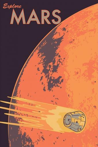 היעד הבא: מאדים | איור: Ian Norman via flickr