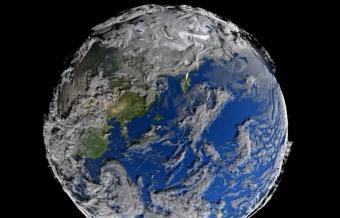 צפו: האטמוספרה גורמת לכדור הארץ להיראות כיצור נושם