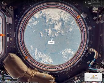 שוטטו עם גוגל סטריט וויו בתחנת החלל הבינלאומית