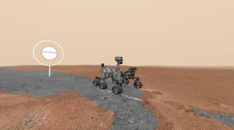 """גוגל ונאס""""א השיקו אפליקציה לשיטוט על פני השטח של מאדים"""