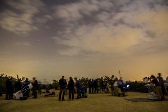 תצפית האגודה הישראלית לאסטרונומיה   צילום: אילן צנק