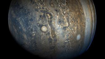 ההמיספרה הדרומית של כוכב הלכת צדק