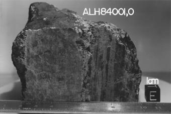 המטאוריט הידוע בכינויו ALH 84001 | NASA