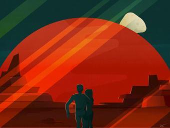 איור מאדים