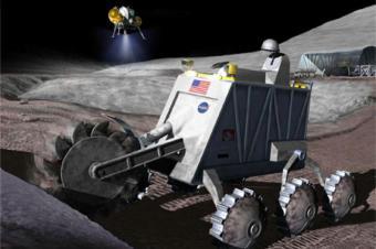 הדמייה הממחישה כרייה של מחצבים בחלל | NASA
