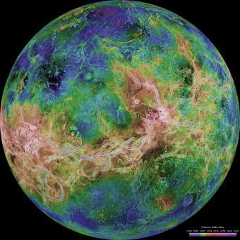 כוכב הלכת נוגה | צילום: NASA
