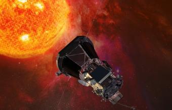 החללית Parker Solar Probe, שגודלה כמכונית קטנה, תצויד במגני חום מיוחדים ובמערכת קירור פנימית |הדמיה:NASA/Johns Hopkins Uni