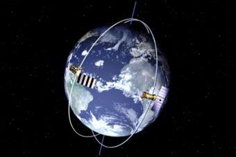 הדמייה של מסלולם הפולארי של שני לווינים | NASA
