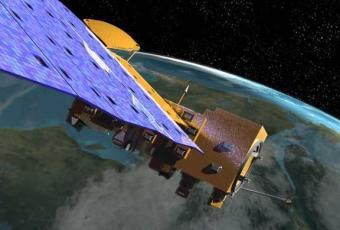 לוויין המחקר Aqua | אילוסטרציה: NASA
