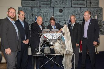 """סוכנות החלל הישראלית תתמוך במיזם החללית הישראלית לירח של SpaceIL בסכום של עד 7.25 מיליון ש""""ח"""