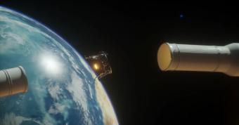 נקודת הניתוק החללית מהמשגר במרחק 60,000 קילומטר מכדור הארץ | קרדיט: SpaceIL