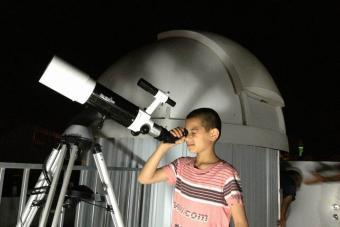 מצפה הכוכבים במרכז החלל טייבה