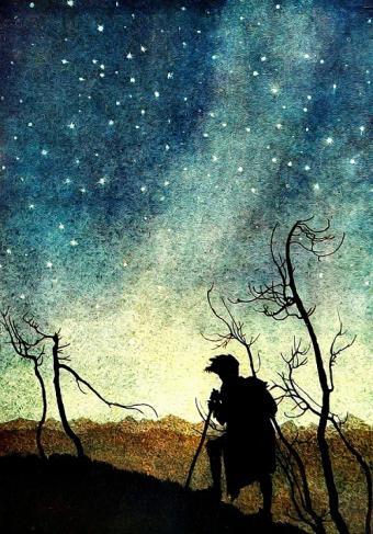 מסע תחת שמי הלילה